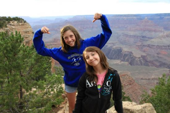 Grand Canyon 2010 Shannon & Molly
