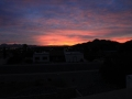 Sunrise over McDowell Mountains
